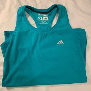 Adidas Teal Ultimate XS Tank